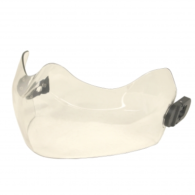 Maxillo Polycarbonite Face Shield Assembly with Latches