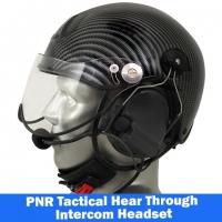 Icaro TZ Marine Helmet with ComTac V/Swatac V PNR Tactical Hear Thru Portable Radio Headset