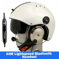 Icaro Pro Copter Aviation Helmet with Lightspeed Zulu 3 Headset