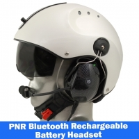 Icaro Pro Copter EMS/SAR Aviation Helmet with Tiger PNR Headset with Bluetooth
