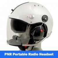Icaro Rollbar Plus Aviation Helmet with Tiger Portable Radio Headset