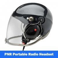 Icaro Rollbar EMS/SAR Aviation Helmet with Tiger Portable Radio Headset