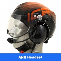 Icaro Solar X EMS/SAR Aviation Helmet with Tiger ANR Headset