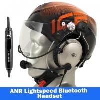 Icaro Solar X Aviation Helmet with Lightspeed Zulu 3 Headset
