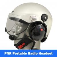 Icaro Scarab EMS/SAR Aviation Helmet with Tiger Portable Radio Headset