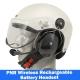 Icaro Scarab Marine Helmet with Tiger Wireless Headset