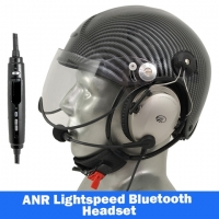Icaro TZ Aviation Helmet with Lightspeed Zulu 3 Headset