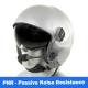 MSA Gallet LH250 Flight Helmet - Flourescent Orange