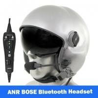 MSA Gallet LH050 Flight Helmet - Orange Flourescent