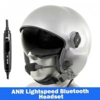MSA Gallet LH050 Flight Helmet - Lightspeed Zulu H-Mod Communications