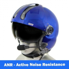 MSA Gallet LH250 Flight Helmet with ANR Communications