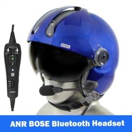 MSA Gallet LH250 Flight Helmet with BOSE A20 Communications