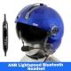 MSA Gallet LH250 Flight Helmet - White