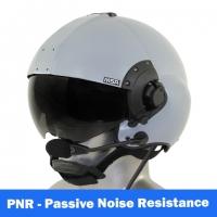 MSA Gallet LH350 Flight Helmet - Black Gloss