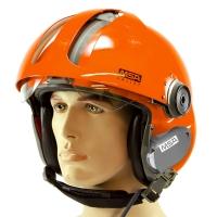 MSA Gallet LA100 Jet Pilot Flight Helmet for Tiger Scuba Mask without Communications
