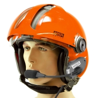 MSA Gallet LA100 Marine Helmet for Tiger Scuba Mask with PNR Communications