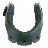 MSA Gallet Cloth Helmet Edge Roll - 2 Button