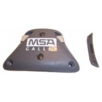 MSA Gallet Outer Visor Adjustment System with Locking Device