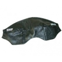 MSA Gallet Leather Outer Visor Cover with Velcro Tabs