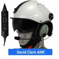 Icaro Pro Copter Aviation Helmet with David Clark ONE-X Communications