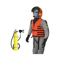 Boat Mounted Air Systems for Use with Non Scuba Mask Applications