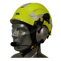 Petzl Vertex Aviation Helmet with Lightspeed Zulu 3 Headset