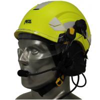 Petzl Vertex Aviation Helmet with 3M Peltor ComTac V/Swatac V PNR Tactical Hear Thru Headset