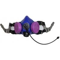 Tiger 8500 Helmet Half Respirator Filter Mask with J Bayonets - P100 Filters & Communications