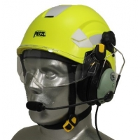 Petzl Vertex Aviation Helmet with David Clark ONE-X Communications