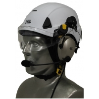 Petzl Strato Aviation Helmet with Lightspeed Zulu 3 Headset