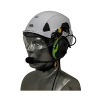 Petzl Strato Aviation Helmet with Tiger PNR Wireless Headset Kit
