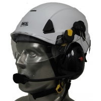Petzl Strato Aviation Helmet with Tiger Portable Radio Headset