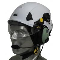 Petzl Strato Aviation Helmet with David Clark ONE-X Communications