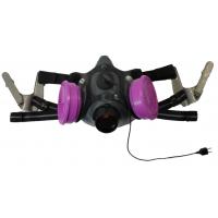 Tiger 5500 Helmet Half Respirator Filter Mask with J Bayonets - P100 Filters & Communications