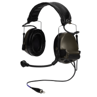 Tiger Aviation Intercom ComTac III PNR Tactical Hear Thru Headset