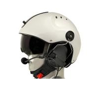Icaro Pro Marine Helmet with ComTac V/Swatac V PNR Tactical Hear Thru Headset