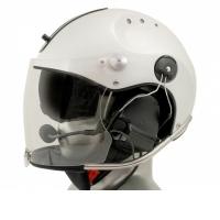 Icaro Rollbar Plus Aviation Helmet with Icaro Rollbar Plus Aviation Helmet with 3M Peltor ComTac V/Swatac V PNR Tactical Hear Th