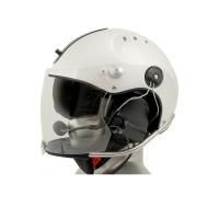 Icaro Rollbar Plus Aviation Helmet with ComTac V/Swatac V Tactical PNR Portable Radio Headset