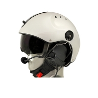 Icaro Pro Copter Aviation Helmet with ComTac V/Swatac V PNR Tactical Hear Thru Headset
