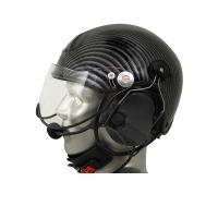 Icaro TZ EMS/SAR Aviation Helmet with ComTac V/Swatac V PNR Tactical Hear Thru Headset