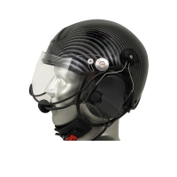 Icaro TZ Aviation Helmet with ComTac V/Swatac V PNR Tactical Hear Thru Headset