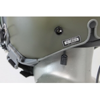 Helmet Installed Mounted Mask Microphone to Boom Mic Switch Assembly