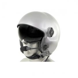 MSA Gallet LH050 Flight Helmet with Tiger PNR Bluetooth Communications