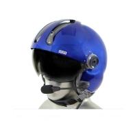 MSA Gallet LH250 Flight Helmet with Tiger PNR Bluetooth Communications