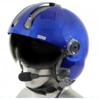 MSA Gallet LH250 Flight Helmet with Tiger ANR Bluetooth Communications