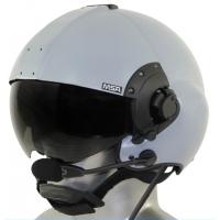 MSA Gallet LH350 Flight Helmet with ANR Bluetooth Communications