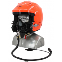 DTG Procomm 4 Marine Open Face Composite Helmet with Tiger Communications (for Tiger mask use)