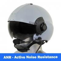 MSA/Tiger USA DOI/USFS Certified LH350T Flight Helmet with Tiger ANR Communications