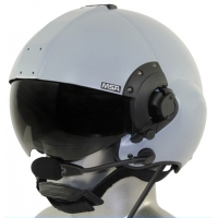 MSA/Tiger USA DOI/USFS Certified LH350 Flight Helmet with Tiger ANR Bluetooth Communications