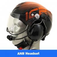 Icaro Solar X EMS/SAR Aviation Helmet with Tiger ANR Headset with Bluetooth